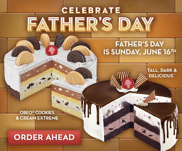 Celebrate Father's Day with an ice cream cake from Cold Stone Creamery®