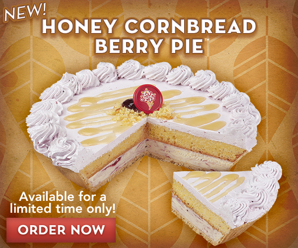 Celebrate your day with an ice cream pie from Cold Stone Creamery®