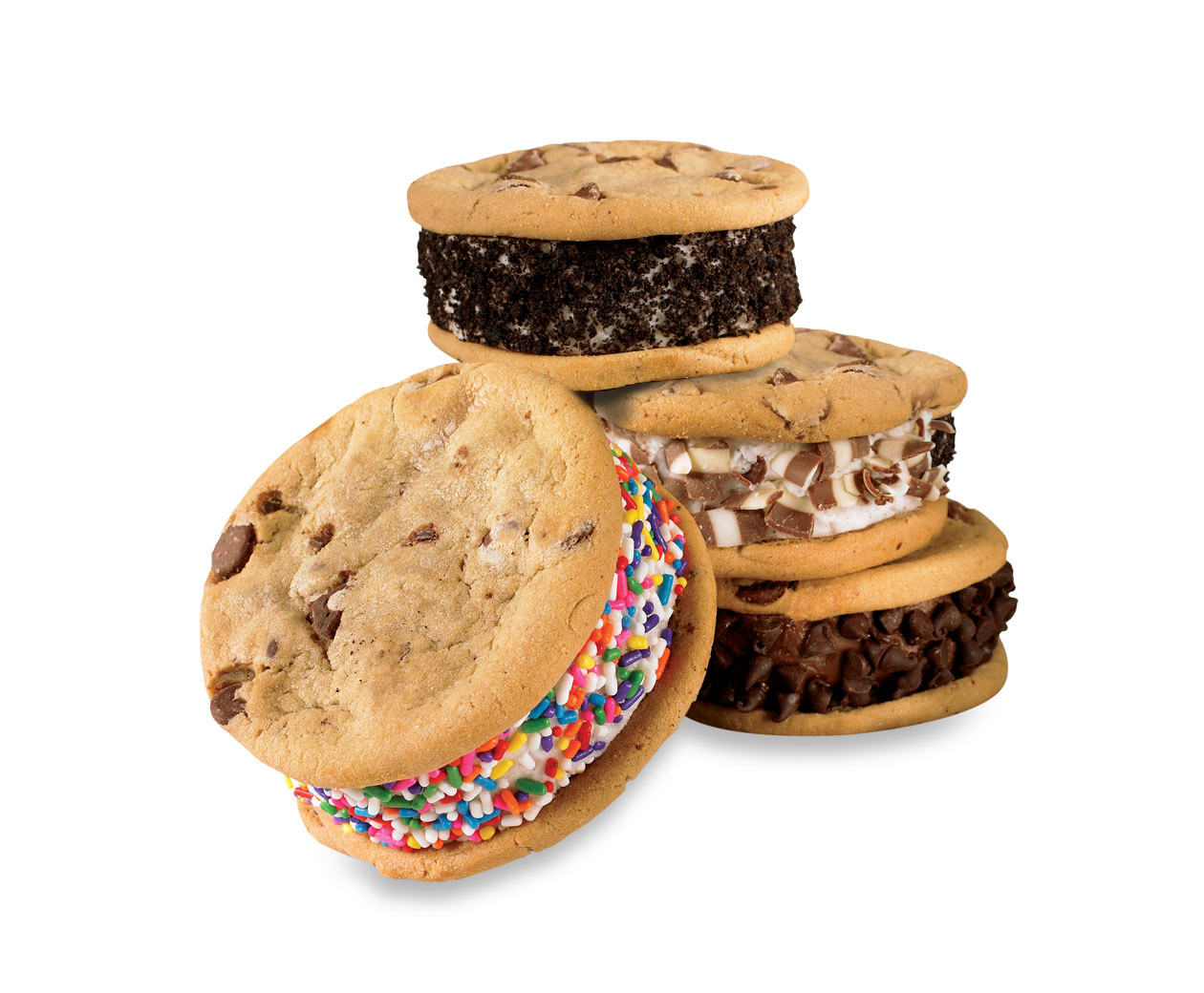 Cold Stone Ice Cream Sandwich Cookies | For Betty Crocker When She Co ...