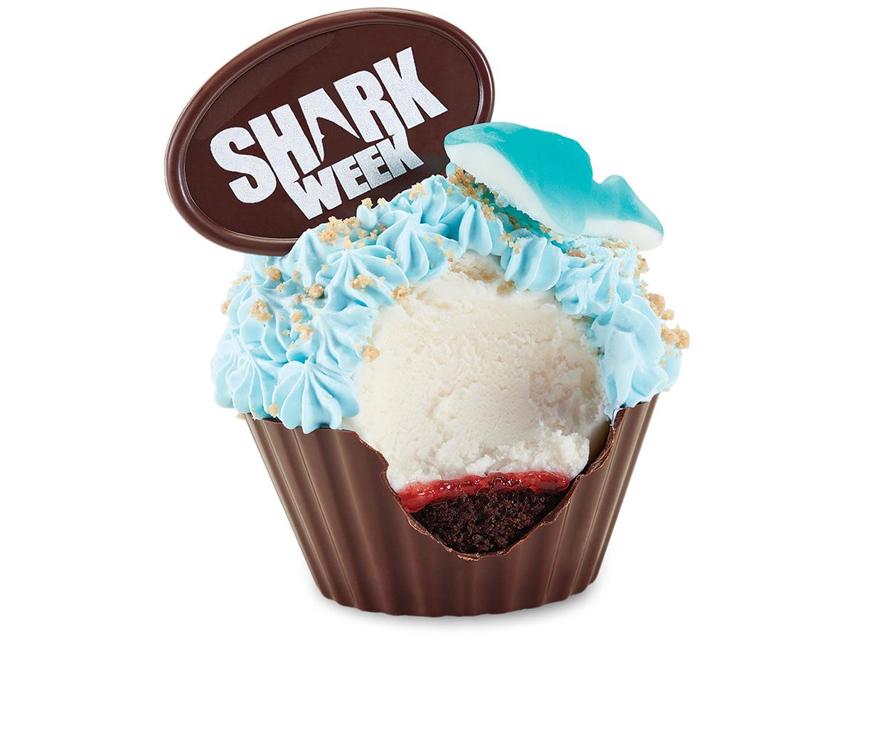 Cupcakes Deep Sea Delight at Cold Stone Creamery