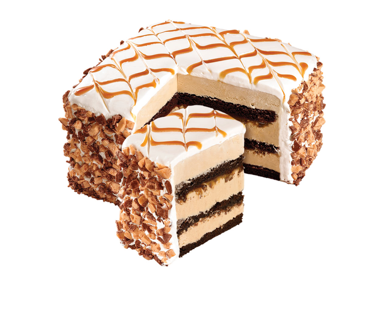 Quilted Coffee Caramel Cold Stone Creamery Signature Cakes