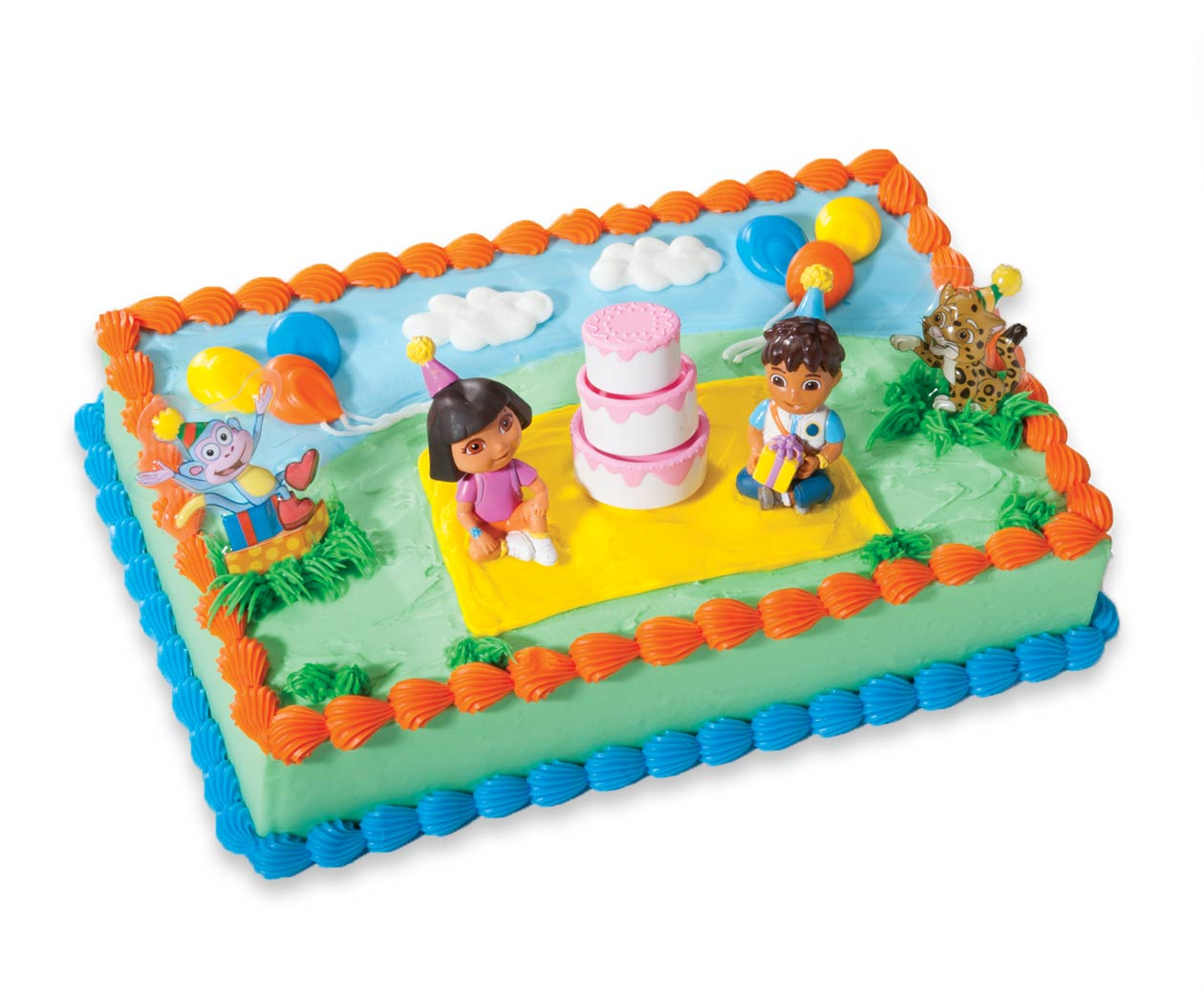 Order A Kids Birthday Cake At Cold Stone Creamery - Go diego go birthday cake