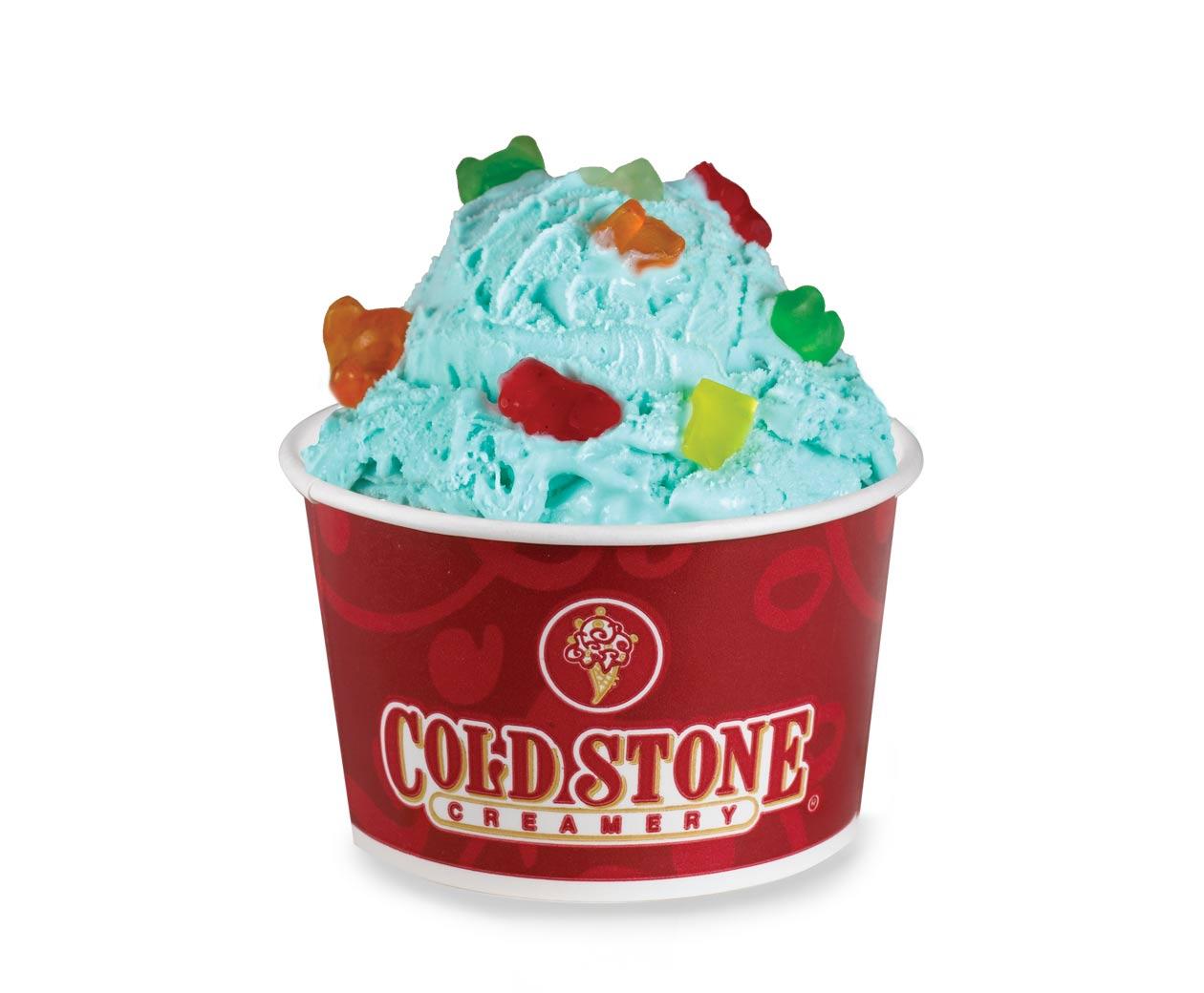 Cold Stone Creamery Beary Beary Blue Kid S Ice Cream