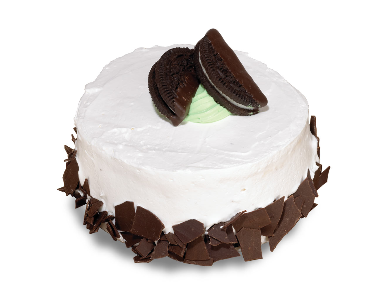 petite mmmint Ice Cream Cake With Ice Cream Sandwiches